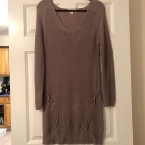 Purple Say What? Long sleeve dress medium